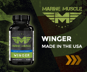 Marine Muscle Banners - Winger  300 x 250