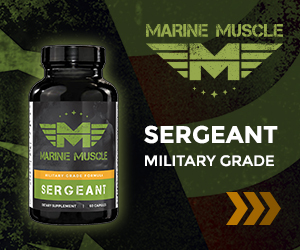 Marine Muscle Banners - Sergeamt  300 x 250