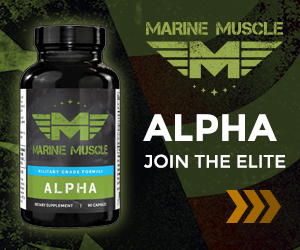 Marine Muscle Banners - Alpha  300 x 250