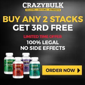 Crazy Bulk Buy 2 Get 3rd Free