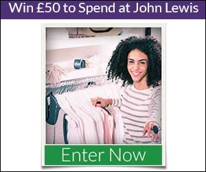 BritPoll -  Win £50 to Spend at John Lewis - UK