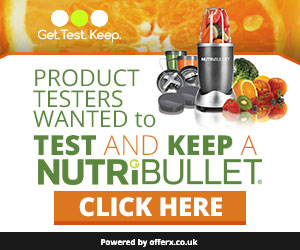 Offerx - Test and Keep a NutriBullet - UK