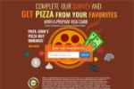 Pizza Gift Card - Email Submit - US - Non Incentive