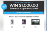 Apple Sweepstakes - US - CPL - Non Incentive