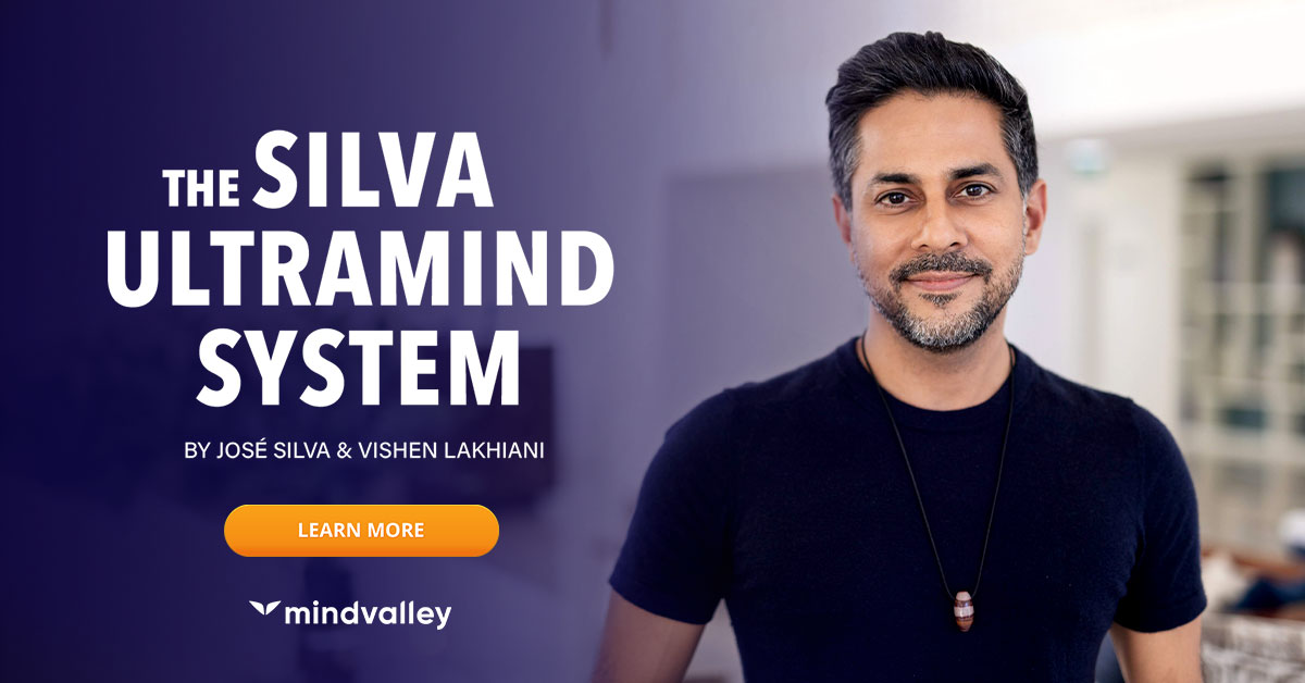 Mindvalley Silva advertising banner.