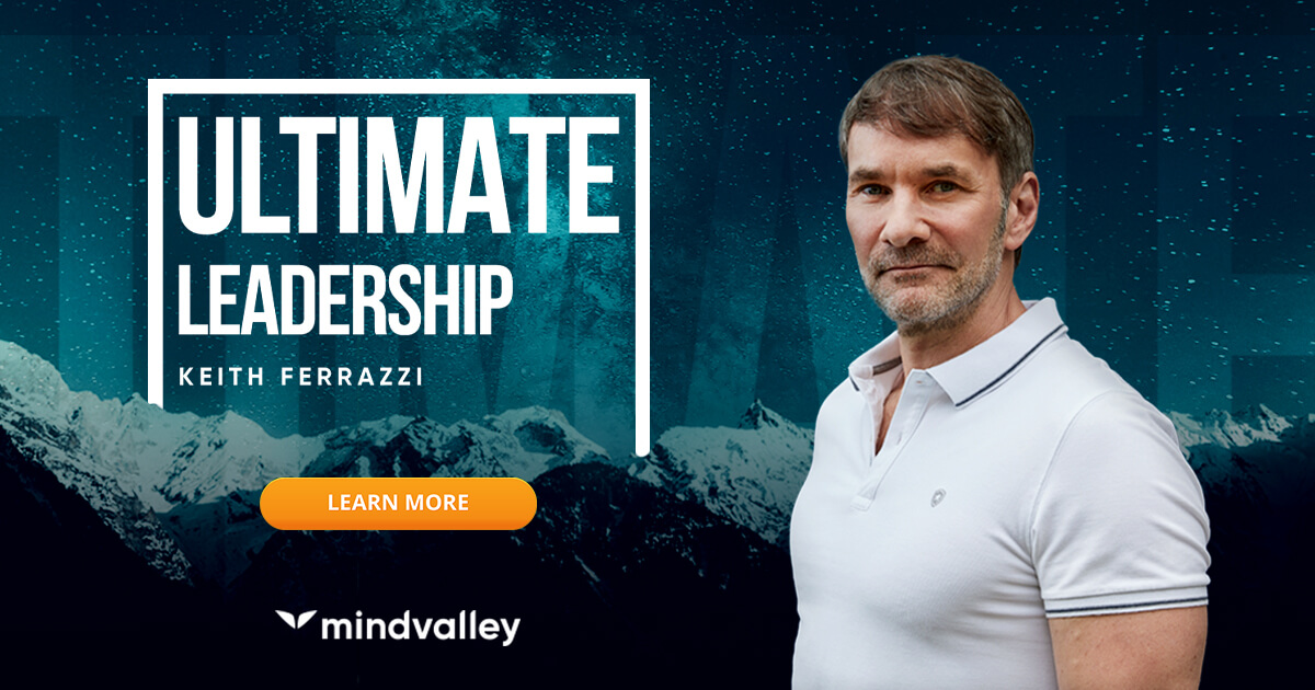 Keith Ferrazzi Ultimate Leadership Course with Mindvalley