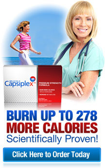 Capsiplex regular weight loss supplement