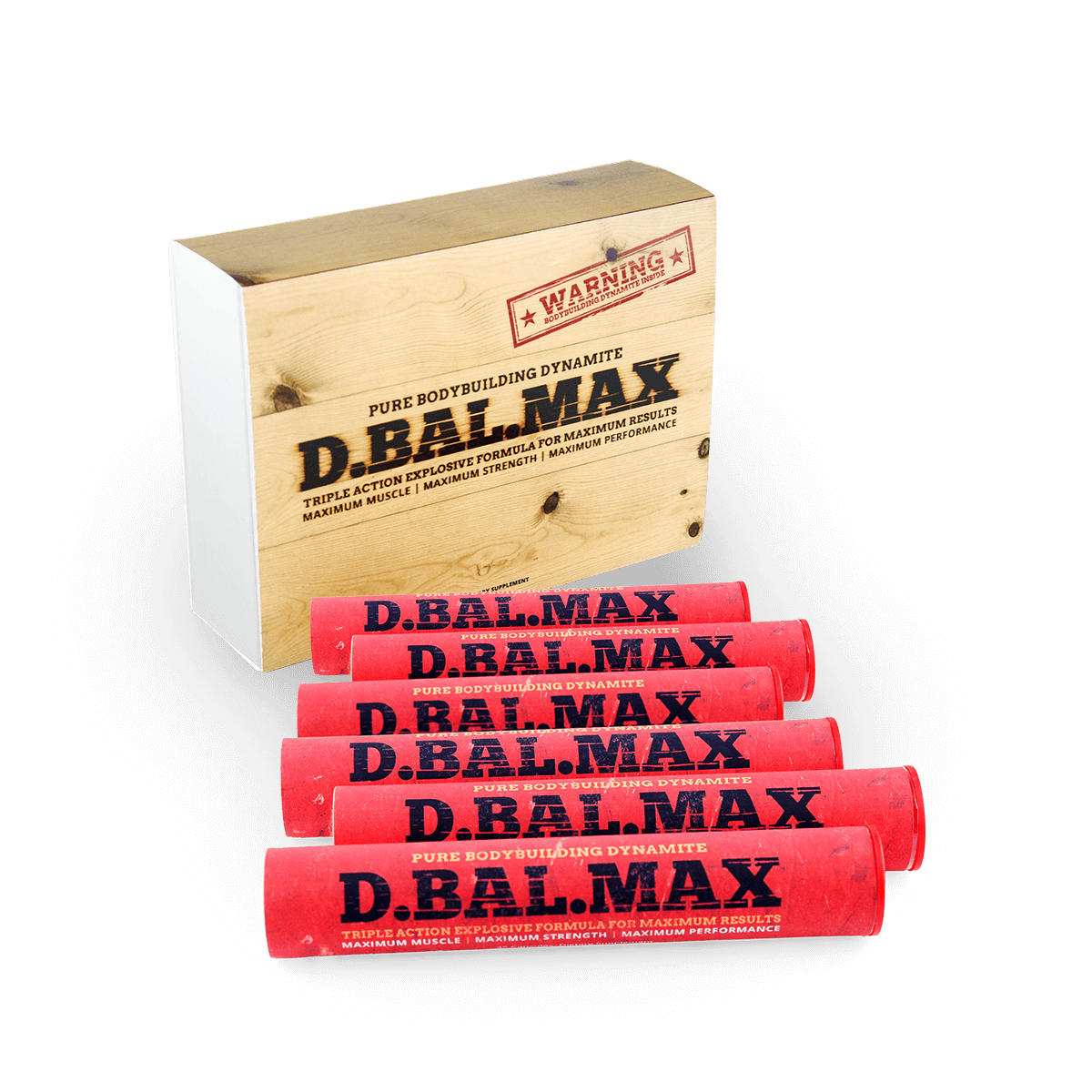 picture of a 3 Months Supply of D-bal max