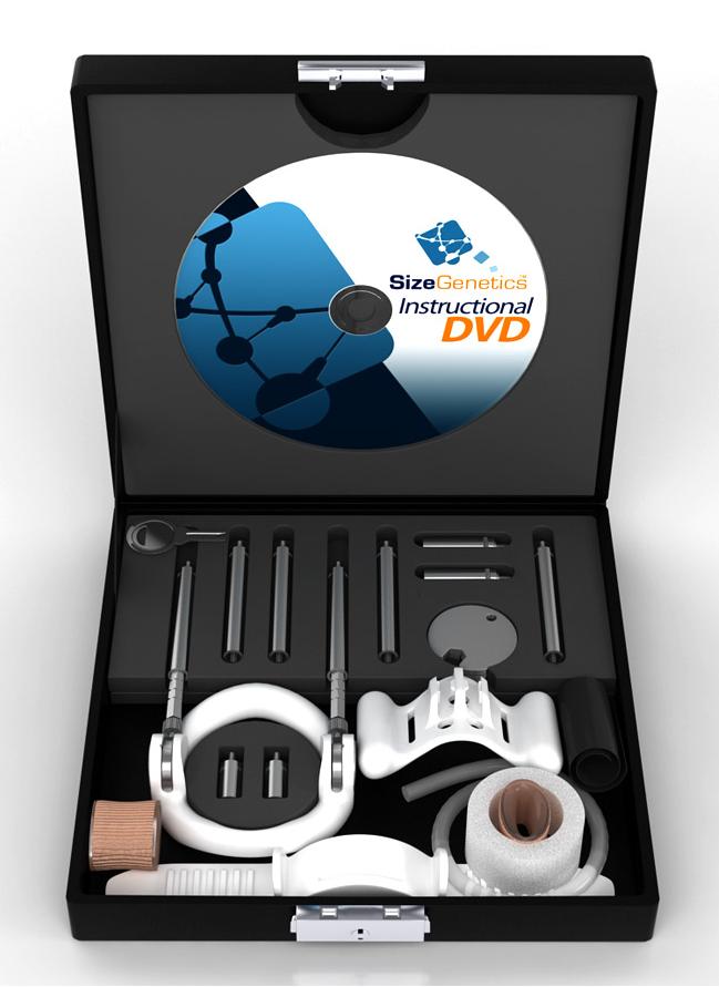 Il Dispositivo SizeGenetics con DVD Didattico