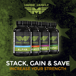 Marine Muscle Banners - Strength Stack 250 x 250