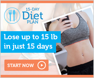 Lose weight in just 15 days