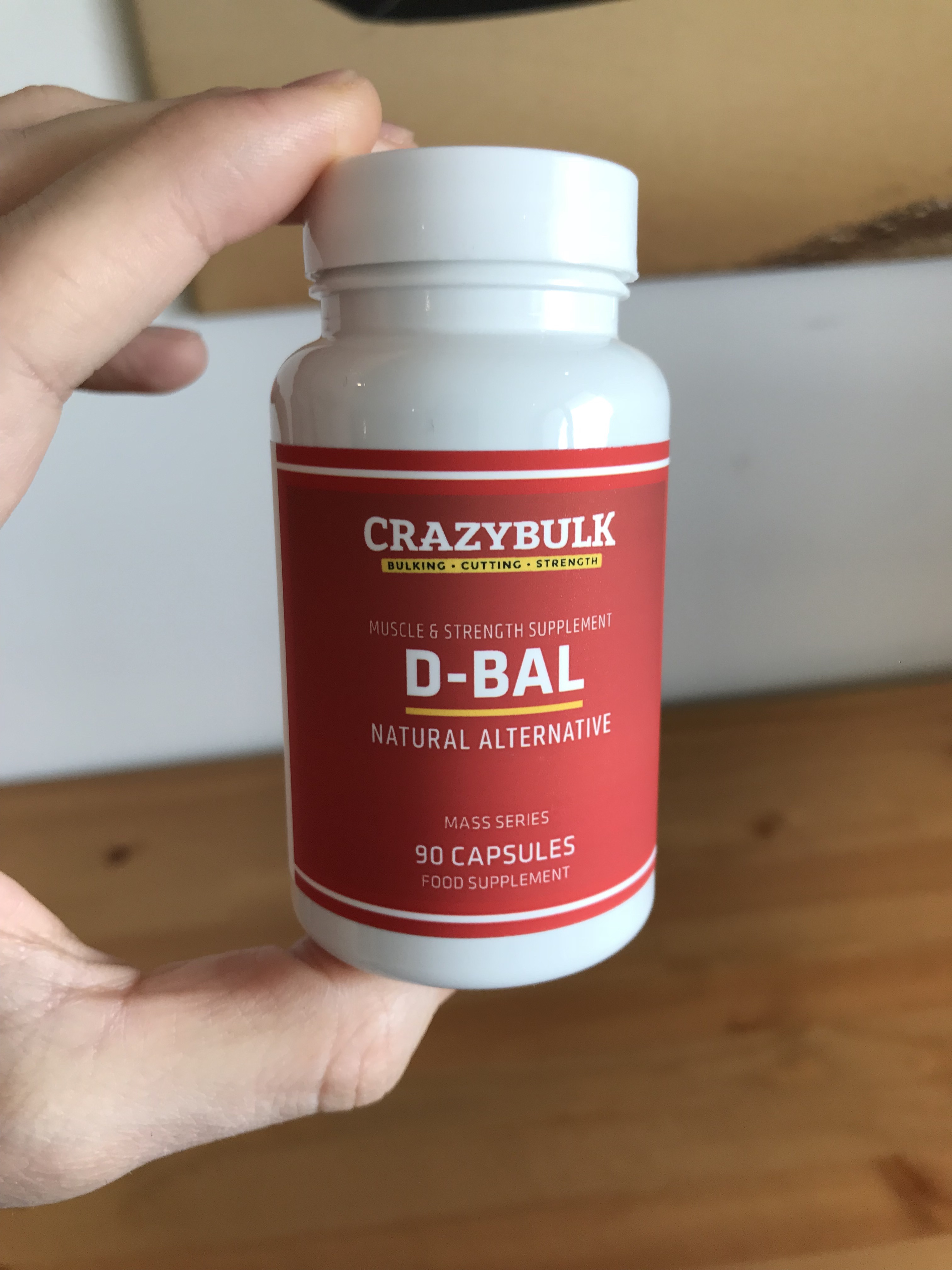 Best muscle pill on the market D-BAL