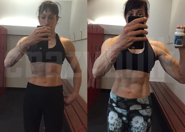 Crazy bulk women results