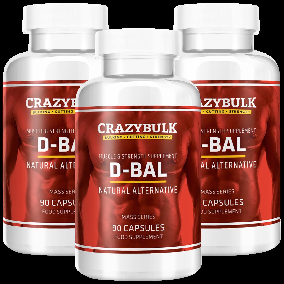 D-BAL Crazy Bulk DBAL