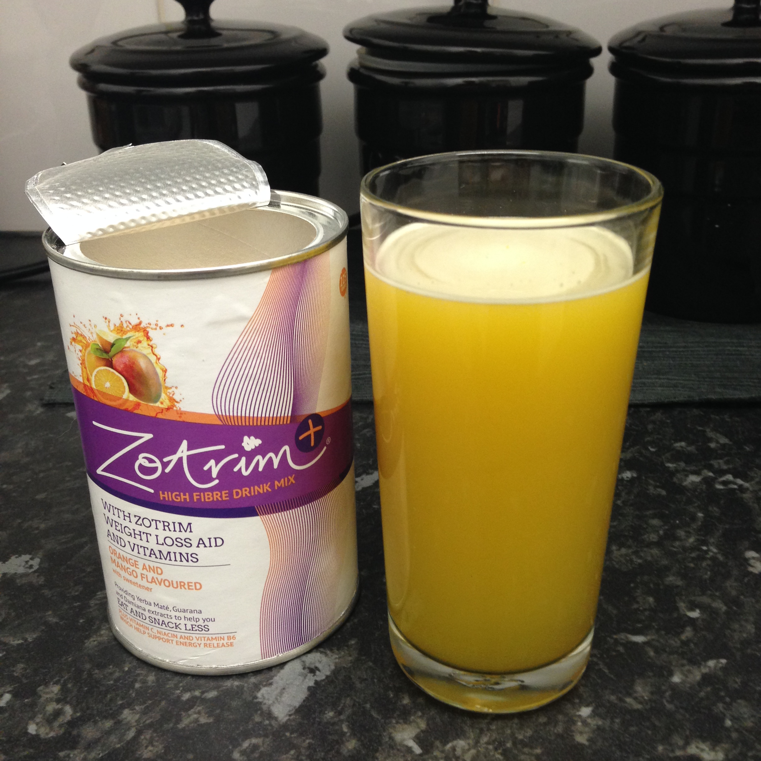 Zotrim Review: Orange and Mango
