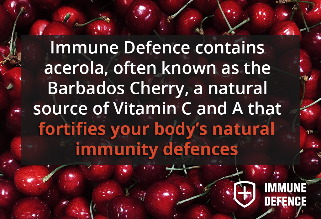 Boost Your Immune System with acerola in immune-defence